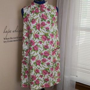 Vintage 1960s triangle mini dress